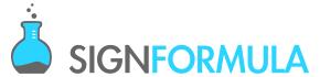 Sign Formula – Custom Signs